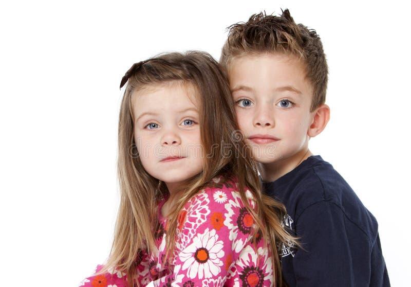 portretów rodzeństwa obrazy royalty free