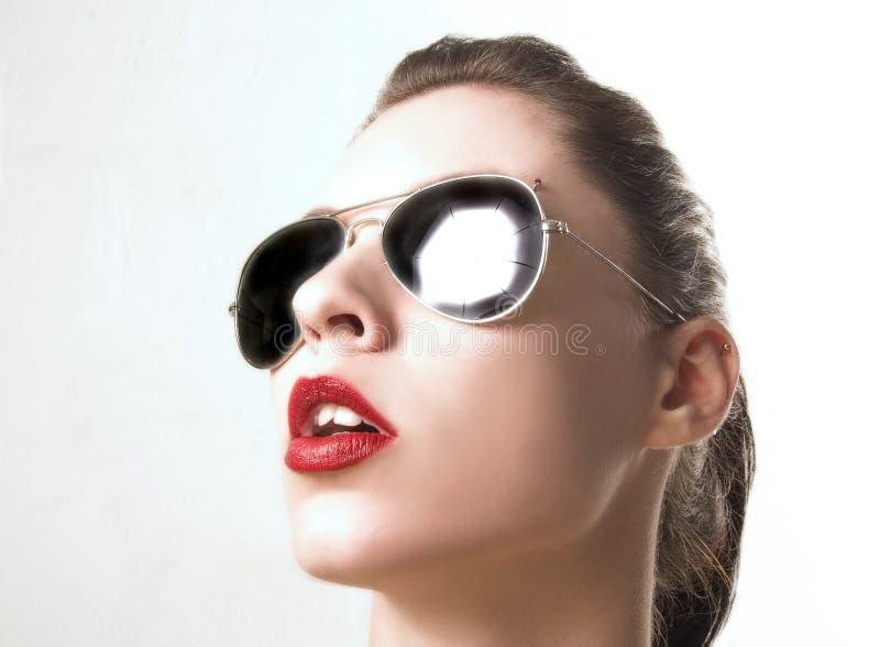portretów sunglass zdjęcia royalty free