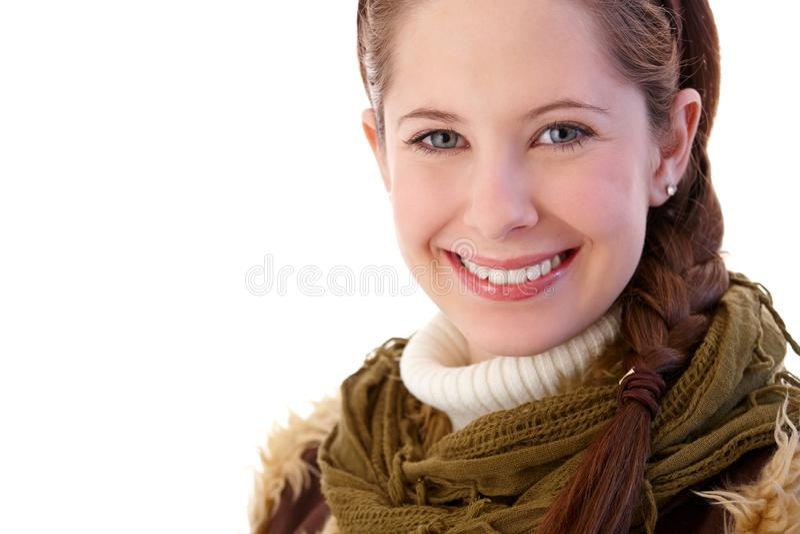 Portret ładna dziewczyna fotografia stock