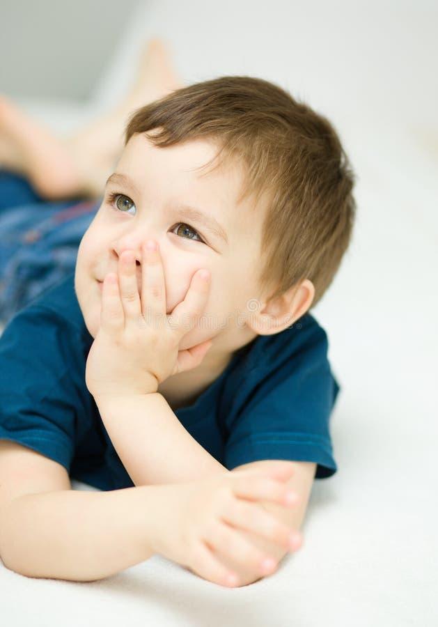Portret śliczna chłopiec zdjęcia stock