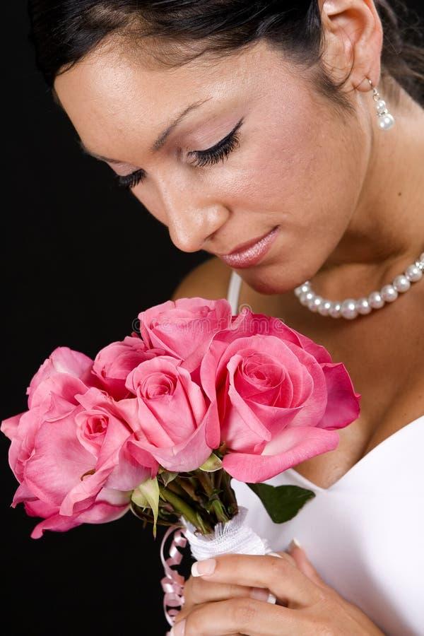 portret ślubnych zdjęcie royalty free
