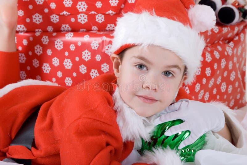 portret świąt zdjęcie stock