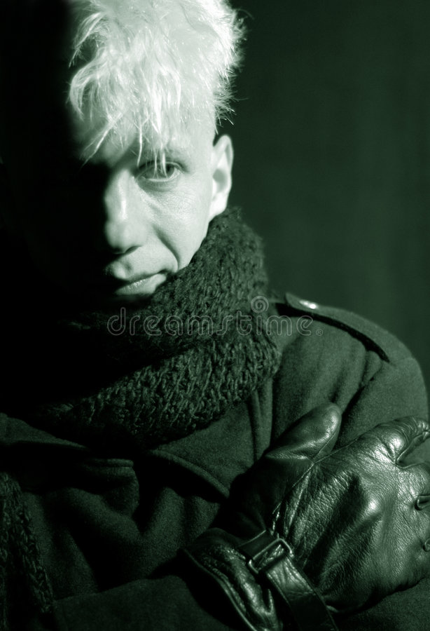 Download Portret stock foto. Afbeelding bestaande uit winter, handschoenen - 282044