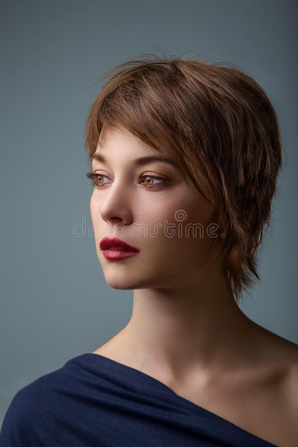 Portret obraz stock
