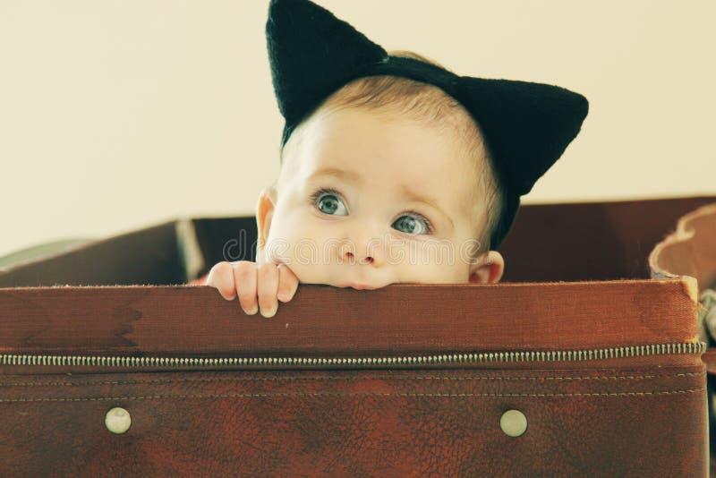 Portret aborable dziecko obrazy royalty free