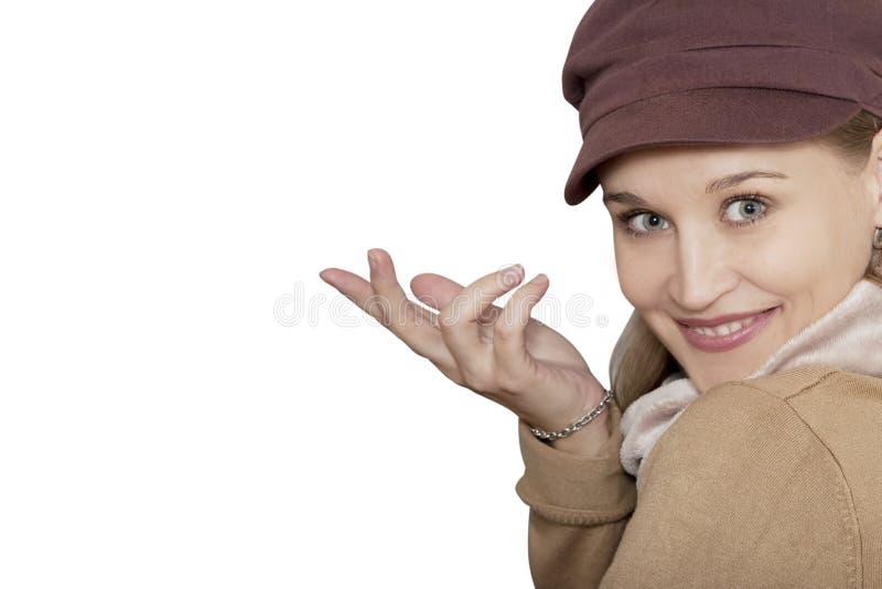 portret atrakcyjna kobieta zdjęcie stock
