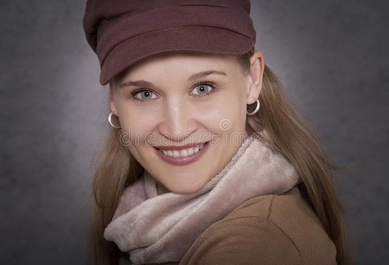 portret atrakcyjna kobieta obraz royalty free