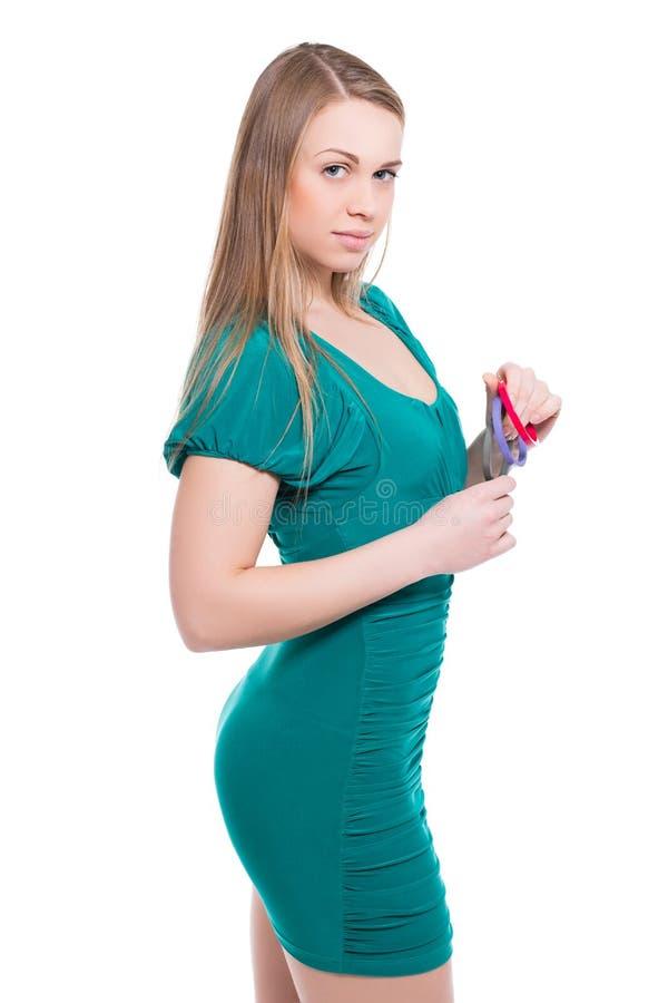 Portret atrakcyjna młoda kobieta zdjęcia royalty free