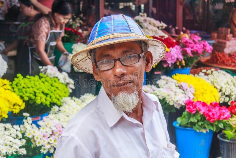 Portret, Azjatycki mężczyzna fotografia royalty free