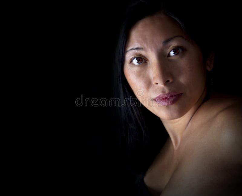 portret azjatykcia kobieta fotografia royalty free