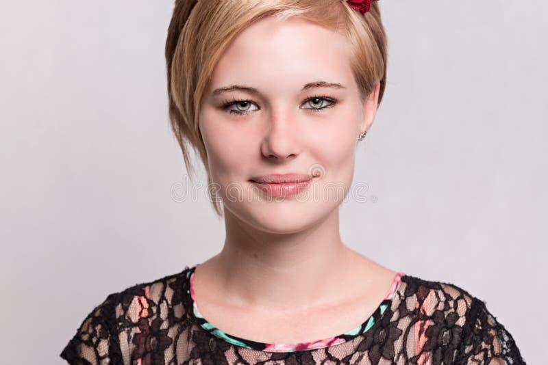 Portret beautyfullteen zdjęcie royalty free