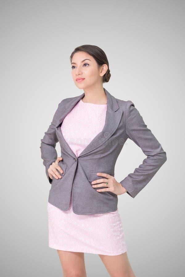 Portret bedrijfsvrouw stock afbeelding
