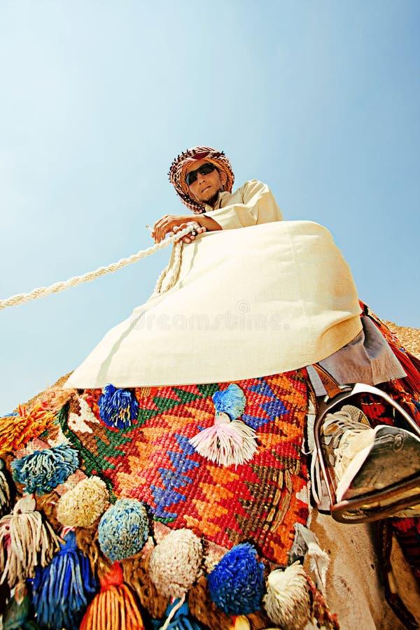 Portret beduin obrazy royalty free