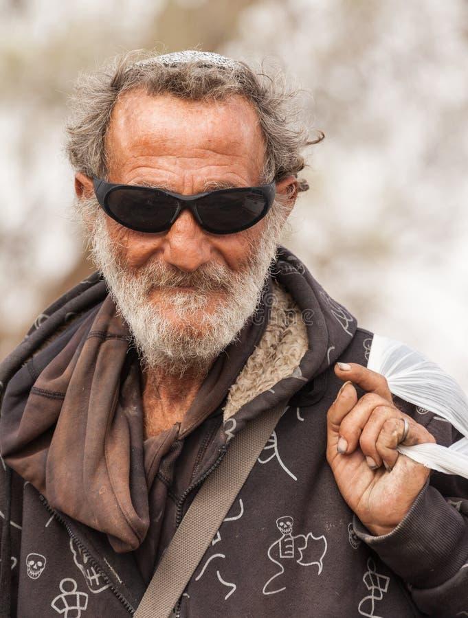 Portret beduin zdjęcia royalty free