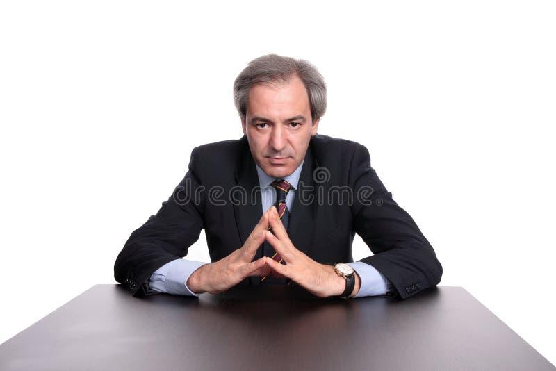 portret biznesmena fotografia stock
