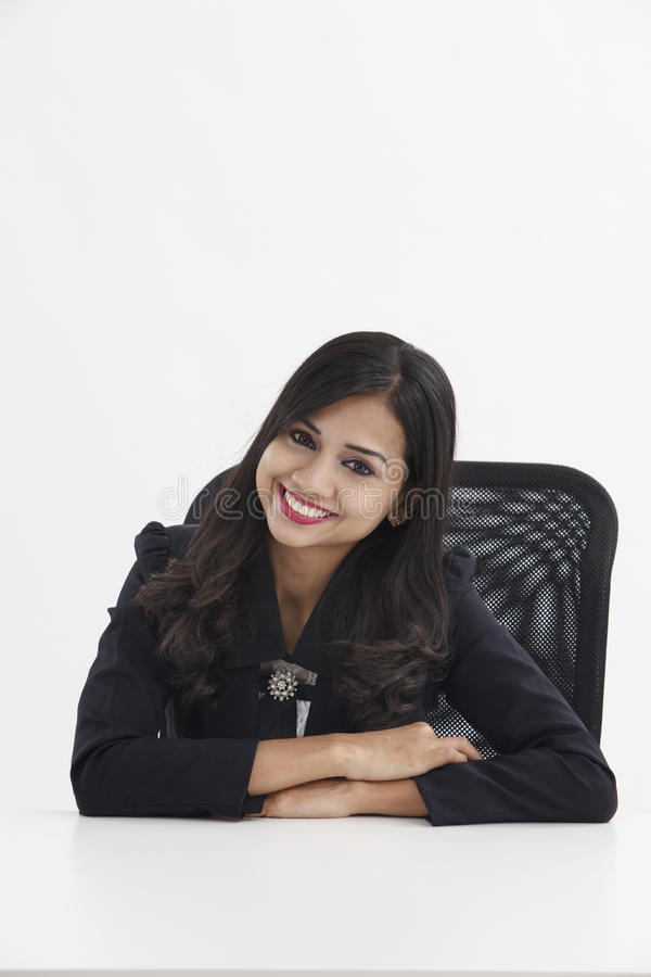 Portret Bizneswoman obraz stock