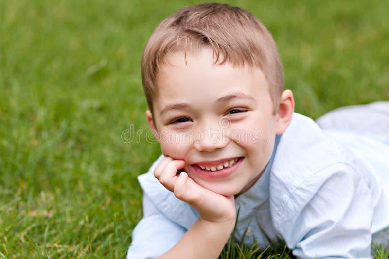 Portret chłopiec obrazy stock