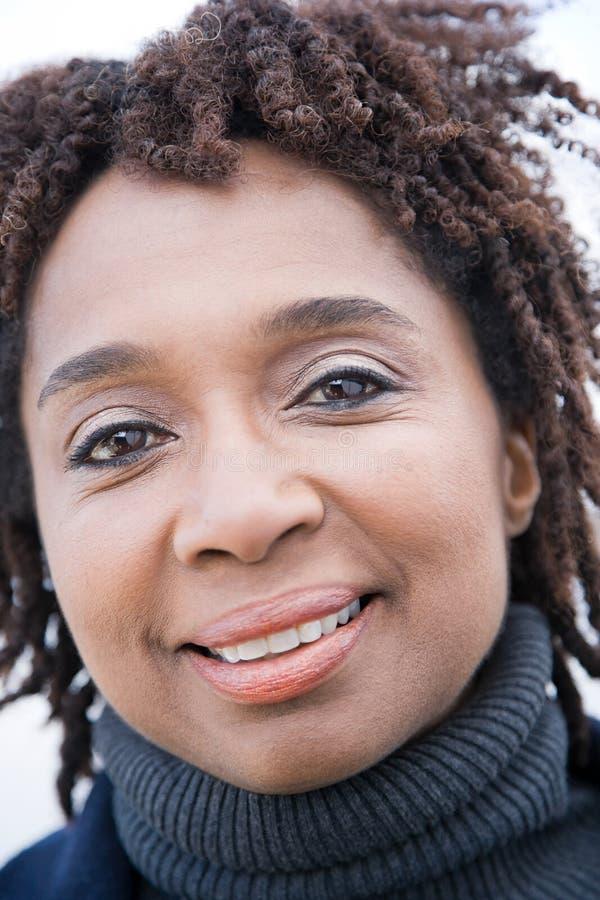 Portret dojrzała kobieta zdjęcie stock