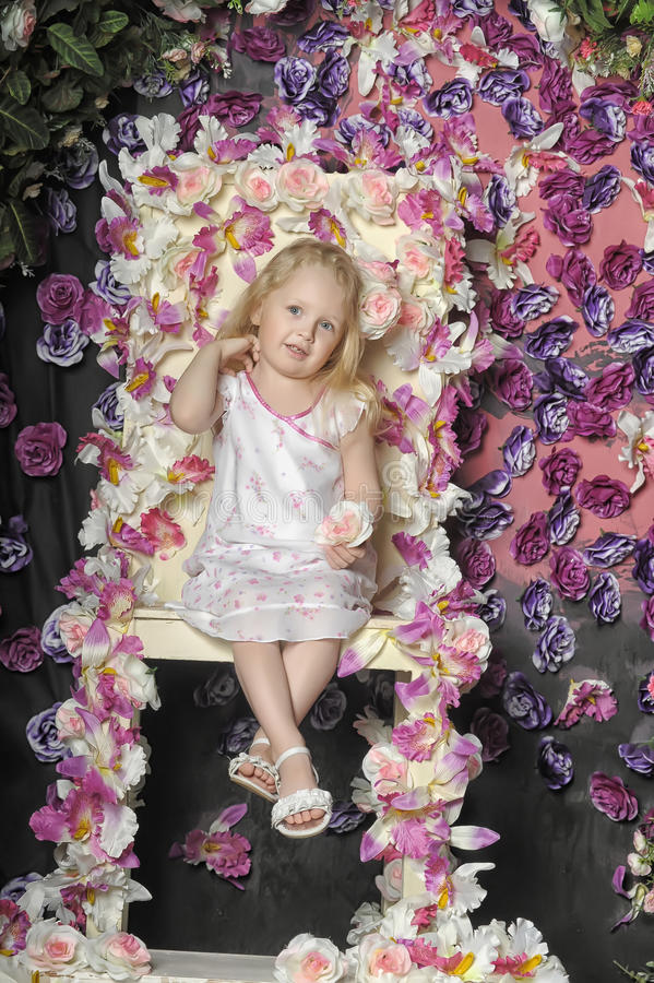 Portret dziewczyna zdjęcia royalty free