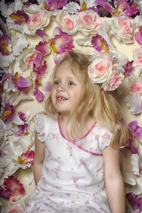 Portret dziewczyna obrazy royalty free