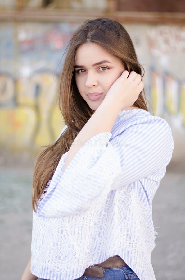 - portret dziewczyny obraz royalty free