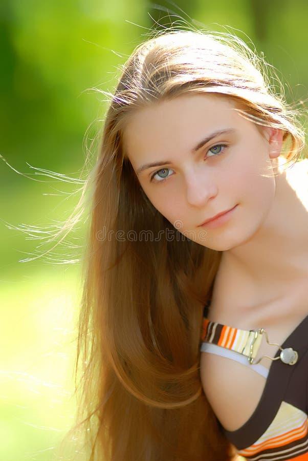 portret dziewczyny fotografia stock