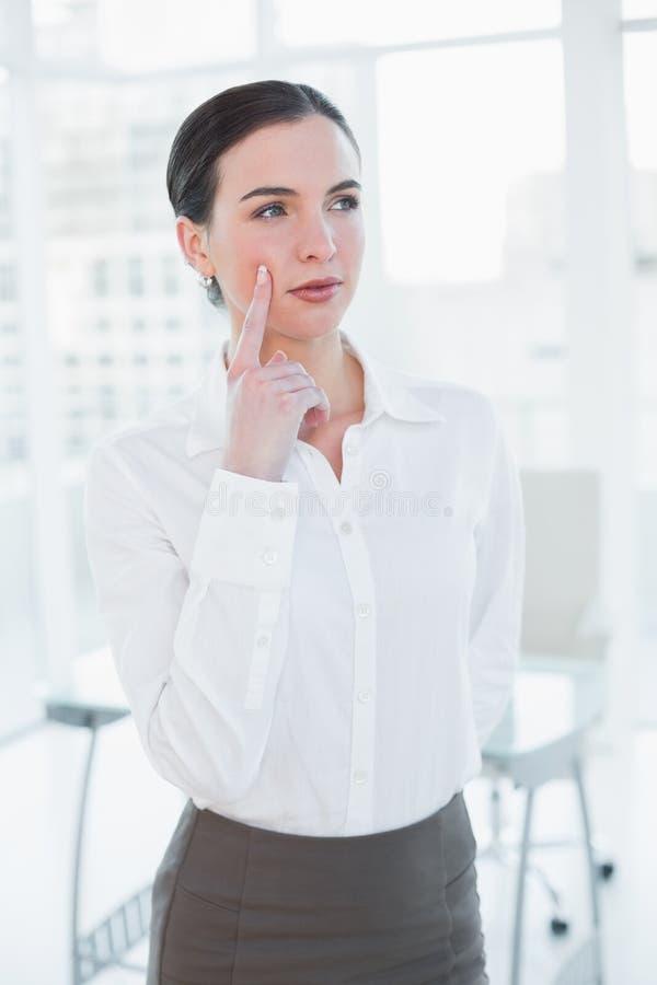 Portret elegancki bizneswoman w biurze zdjęcia stock