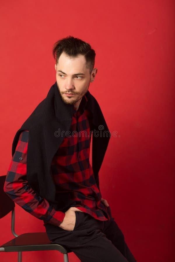 Portret elegancki młody facet zdjęcia royalty free