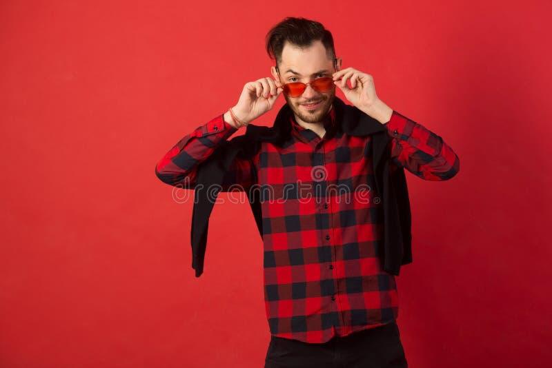 Portret elegancki młody facet zdjęcia stock