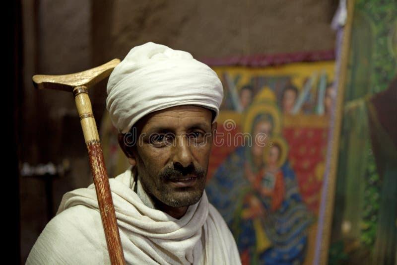 Portret Etiopski mężczyzna zdjęcia royalty free