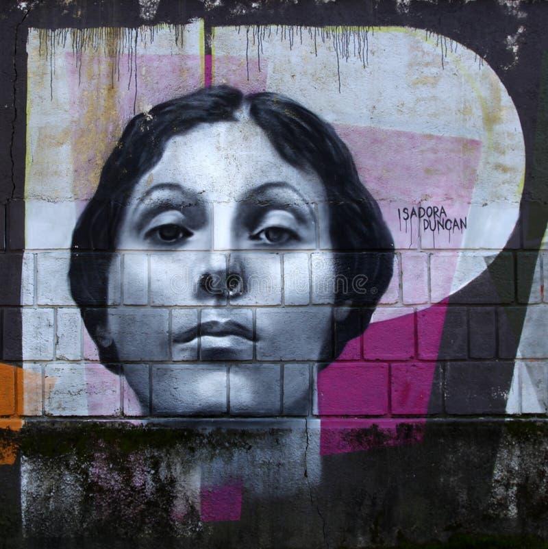 Portret Isadora Duncan