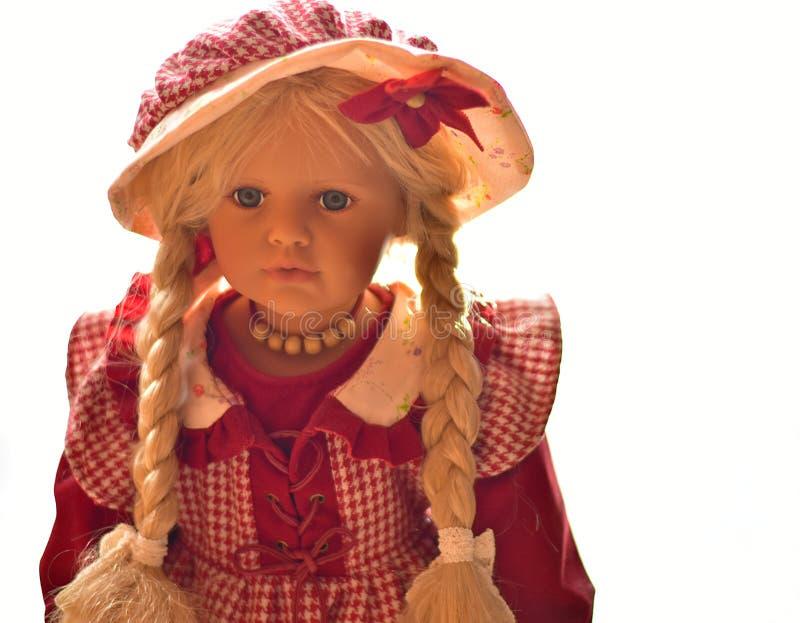 Portret Jeden porcelany lala zdjęcia royalty free