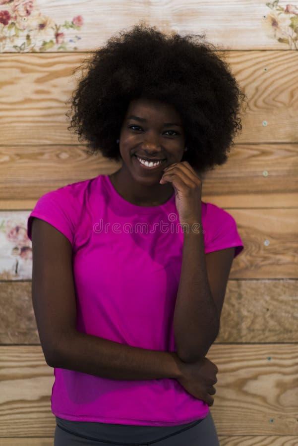 portret kobieta amerykańska kobieta obraz stock