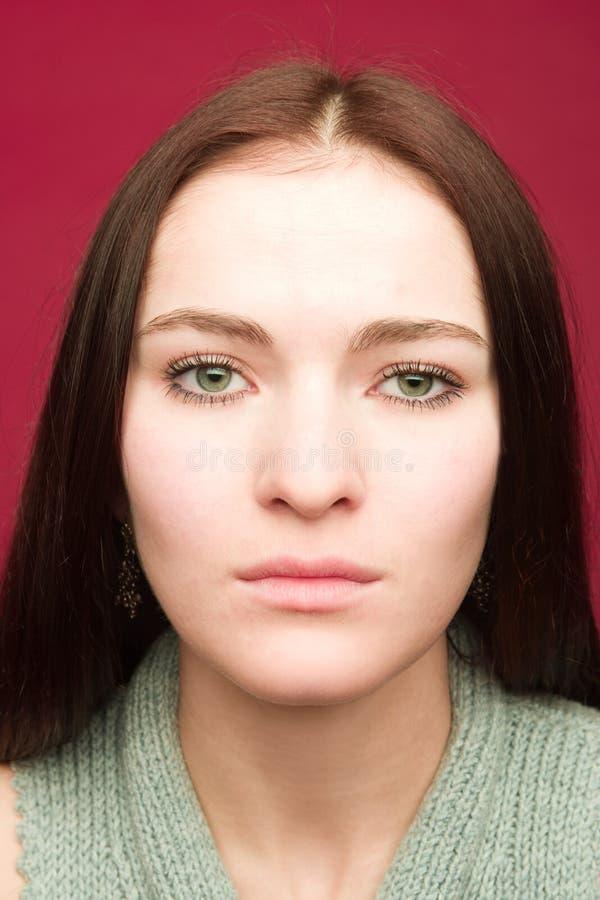 Download Portret kobiety young obraz stock. Obraz złożonej z zmysłowość - 2292525