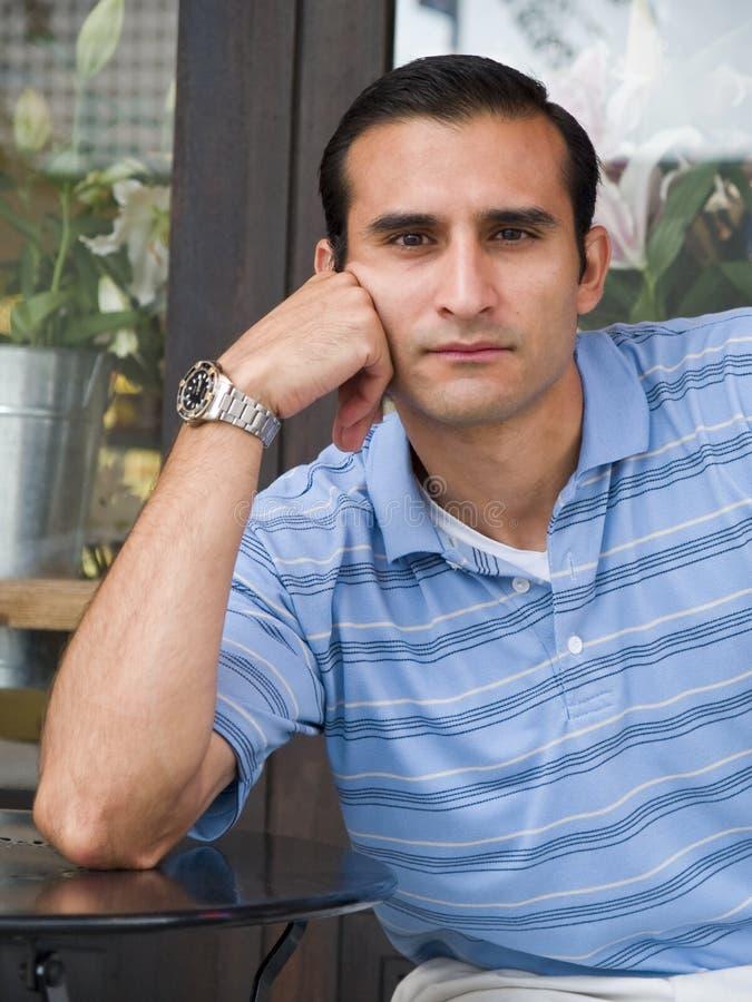 Portret Latynoski mężczyzna obraz stock