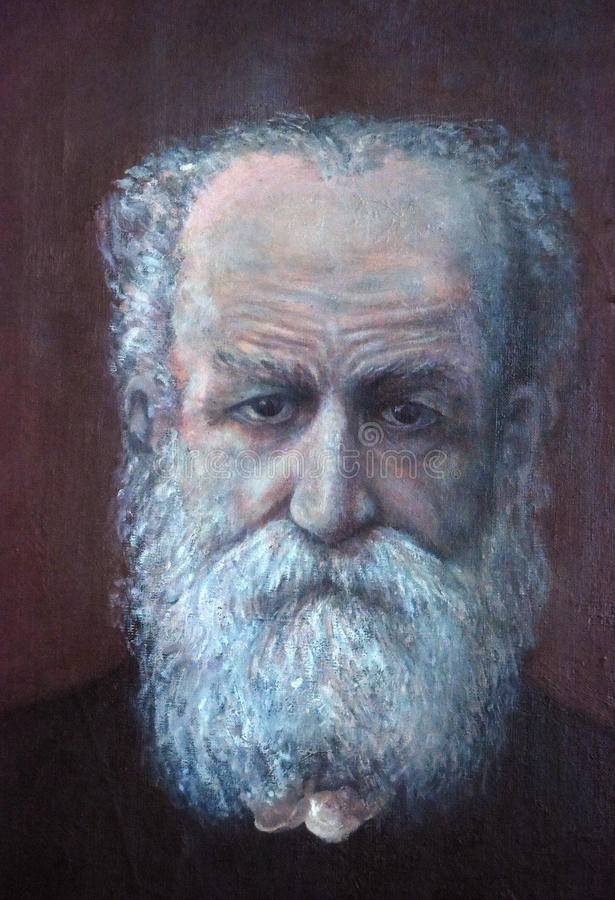 Portret Lesgaft, Peter Franzevich obrazy royalty free