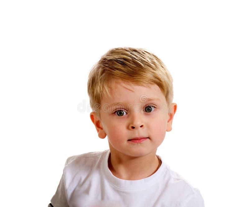 Portret Little Boy obrazy stock