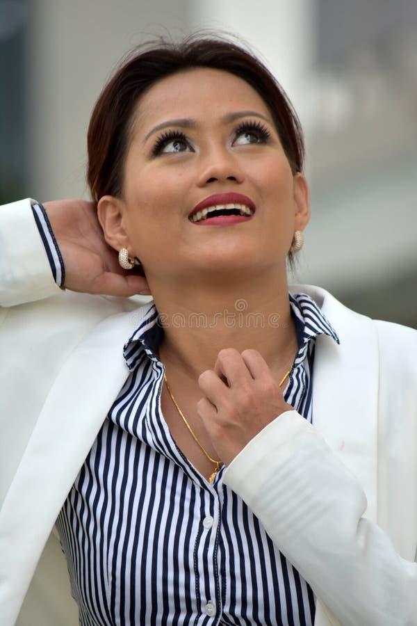 Portret mądrze biznesowa kobieta obrazy stock