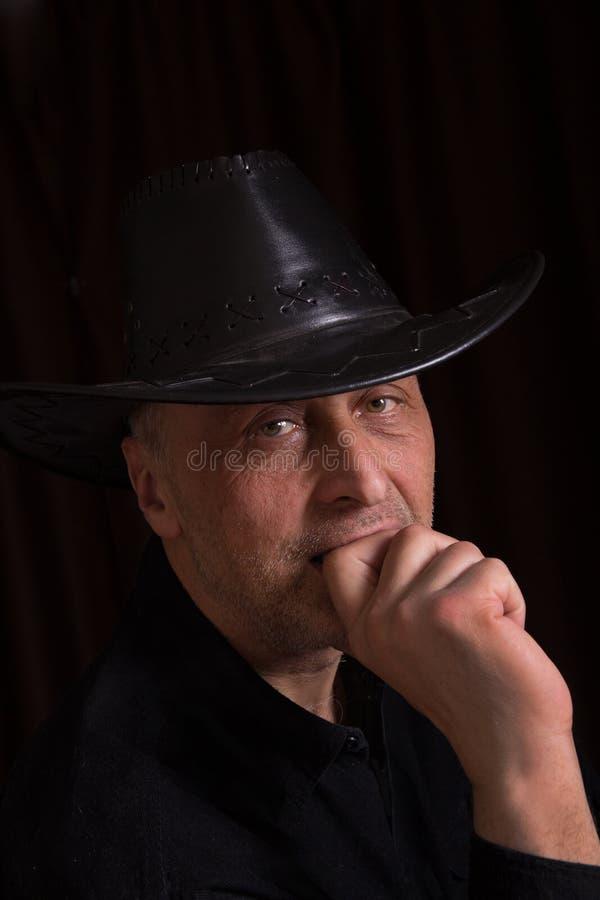 Portret mężczyzna obrazy royalty free