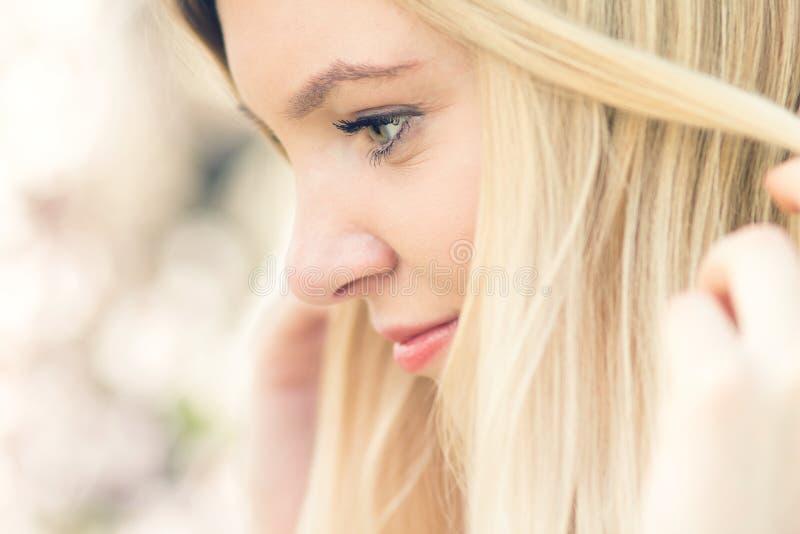 Portret Młoda Piękna kobieta obrazy royalty free