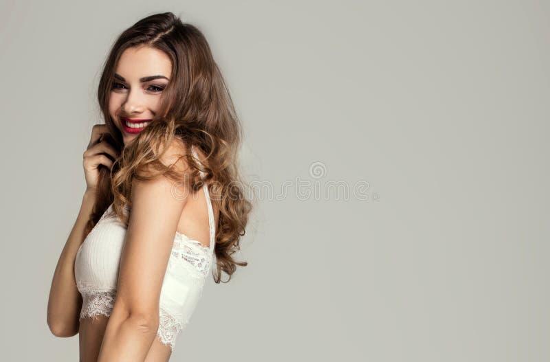 Portret Młoda Piękna kobieta obraz royalty free