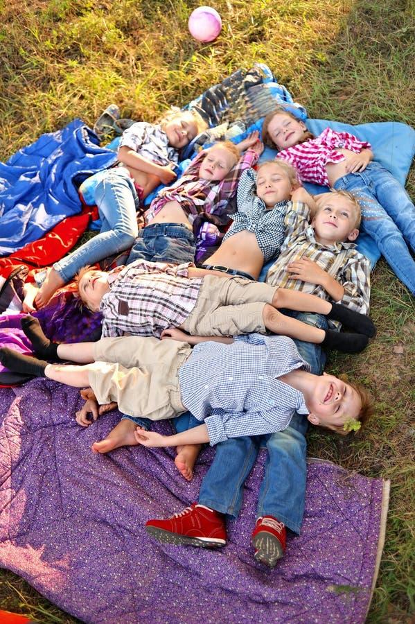 Portret młode dzieci zdjęcia stock