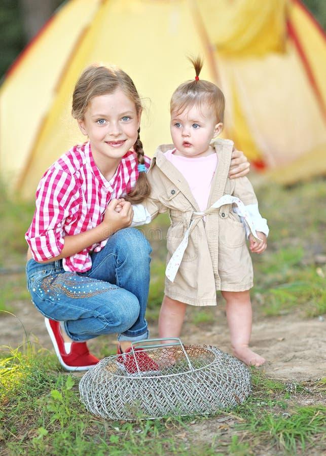 Portret młode dzieci obraz stock