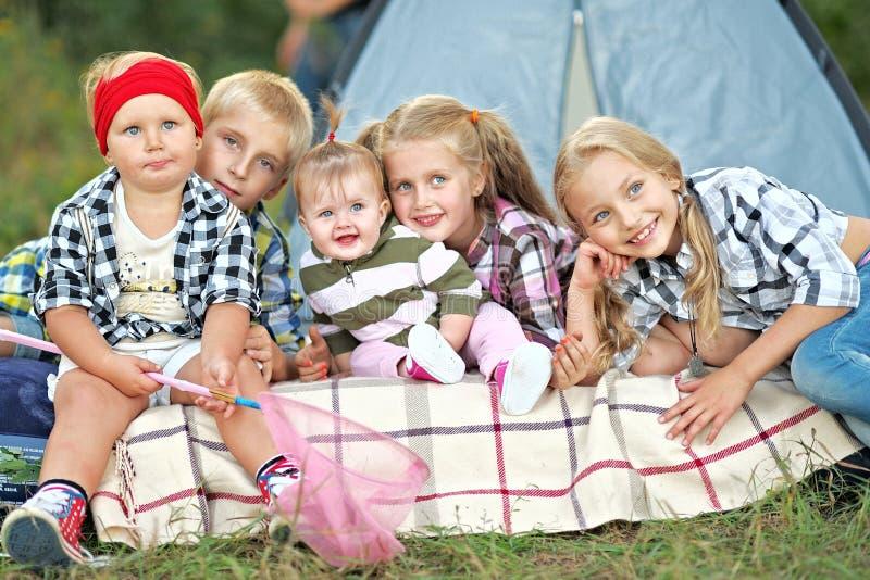 Portret młode dzieci fotografia stock