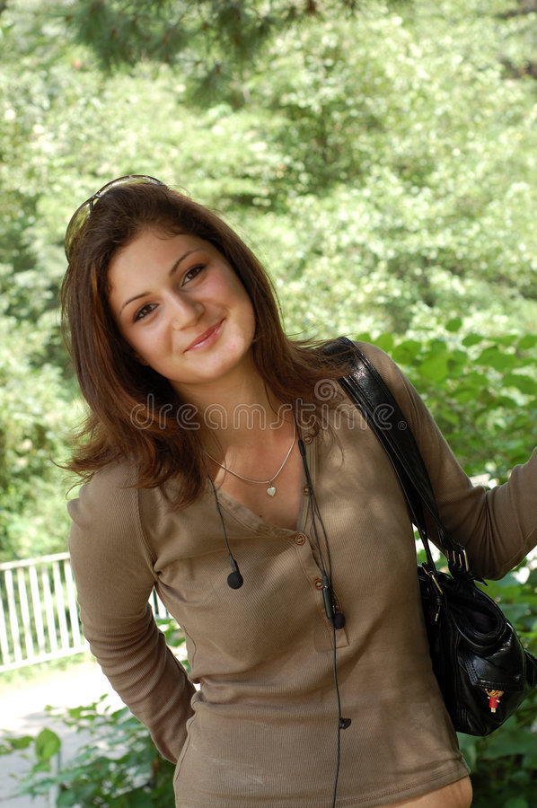 portret młode kobiety fotografia stock