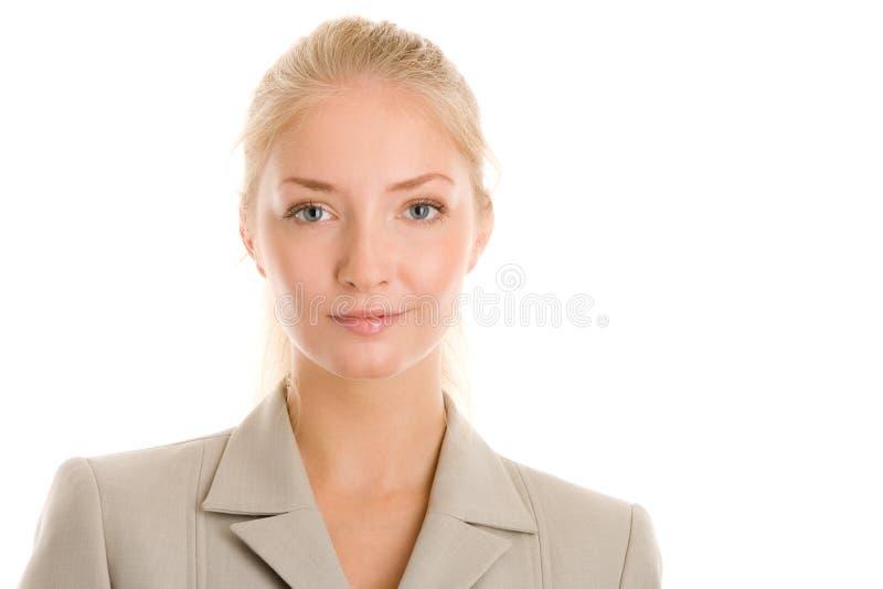 Portret młody bizneswoman fotografia royalty free