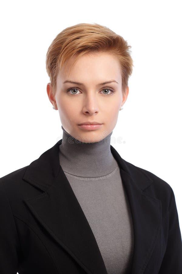 Portret młody bizneswoman zdjęcie stock