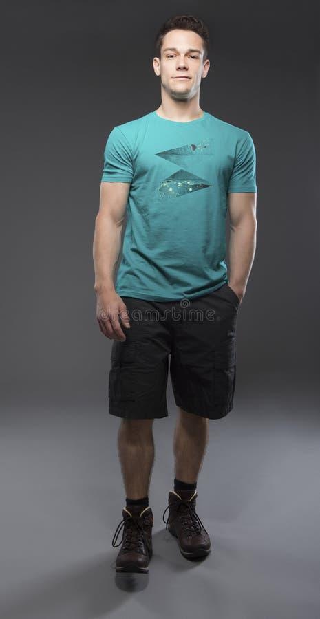 Portret młody człowiek zdjęcia stock