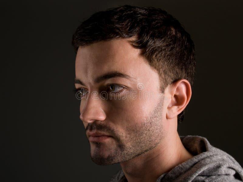 Portret młody człowiek zdjęcia royalty free