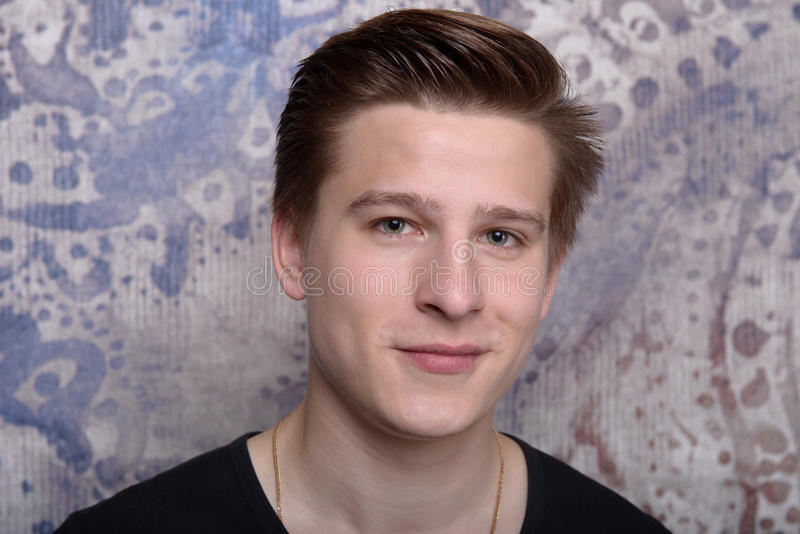 Portret młody człowiek obraz royalty free